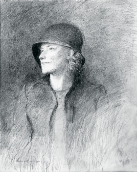 <h5><em>Nicker's Vicker</em>, 2005 pencil on paper, 14 x 11 in. Private Collection</h5><p>© 2016 Andrew Wyeth / Artists Rights Society (ARS), NY </p>