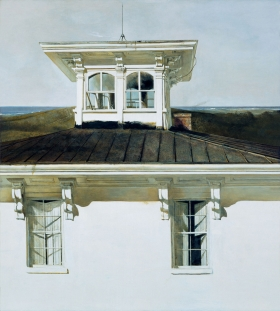<h5><em>Widows Walk</em>, 1990 tempera on panel, 48.25 x 42.25 in. Private Collection</h5><p>© 2016 Andrew Wyeth / Artists Rights Society (ARS), NY</p>