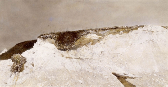 <h5><em>Lime Banks</em>, 1962 tempera on panel, 26.5 x 51.5 in. Private Collection</h5><p>© 2016 Andrew Wyeth / Artists Rights Society (ARS), NY</p>
