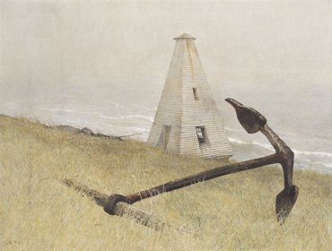 <h5><em>Sea Running</em>, 1978 tempera on panel 11 x 14 in. Private Collection</h5><p>© 2016 Andrew Wyeth / Artists Rights Society (ARS), NY</p>